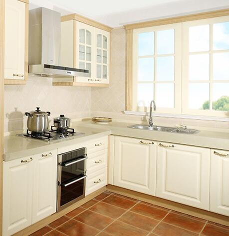 欧睿宇邦整体橱柜整体厨房橱柜定做石英石台面欧式厨柜厨房柜定制