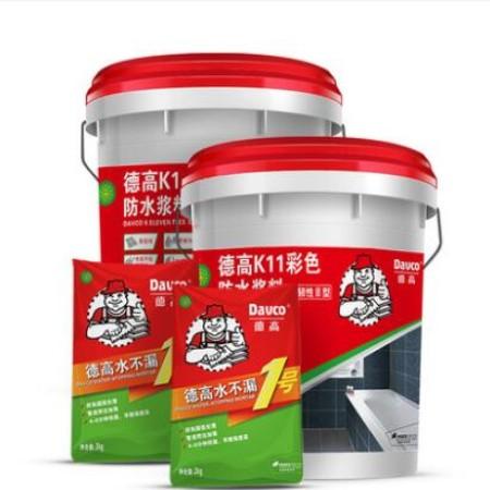 德高防水k11厨卫柔韧防水材料 卫生间防水涂料图片