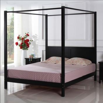 万顺品牌 四柱床实木 柱子床 双人床 架子床 床 欧式床