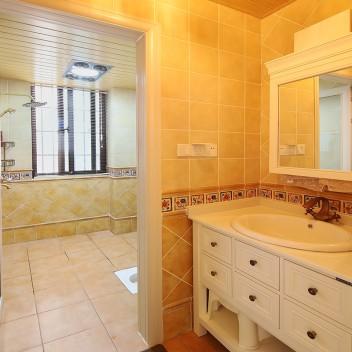 五彩精灵防滑地中海仿古砖卫生间瓷砖厨房欧式复古