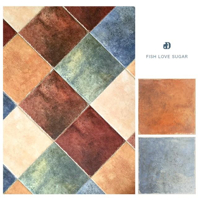 路易斯顿 3d喷墨瓷砖 地中海厨房卫生间墙砖 防滑地砖