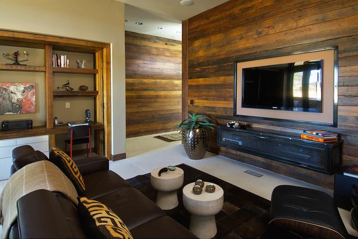 二,木地板电视背景墙施工要点